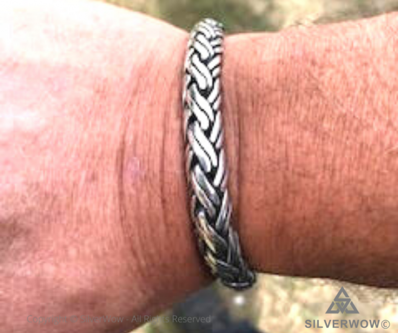10mm Double Rope Weave Bracelet by customer