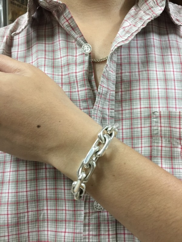 Men's Heavy Chain Link Bracelet by John