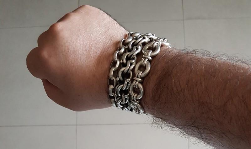 mexican-Mexican Garibaldi bracelet