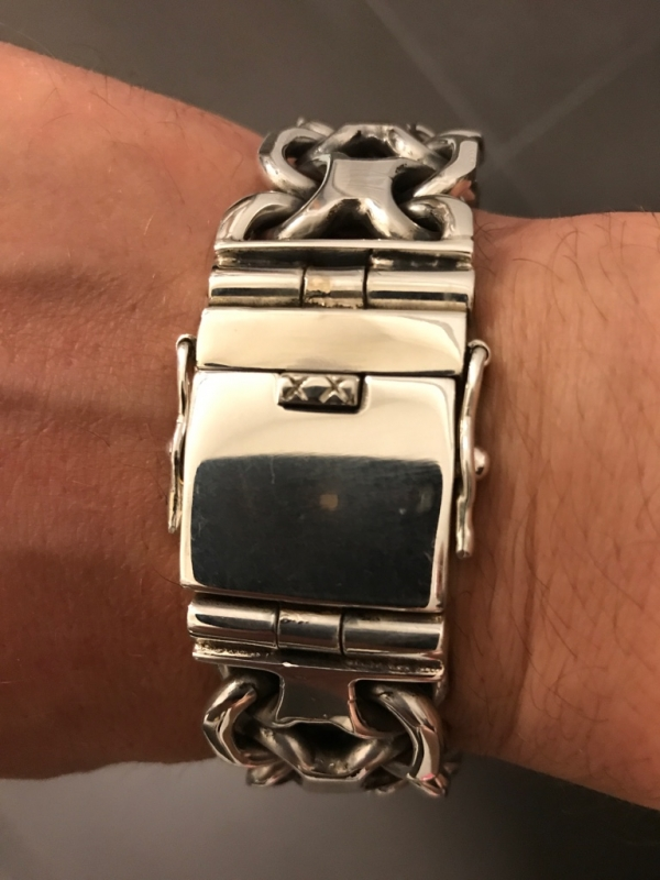 Huge KBB1 Bracelet by a customer