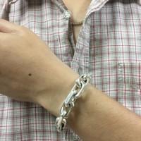 Men's Heavy Chain Link Bracelet by John