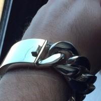 25mm Heavy ID Gauge Bracelet