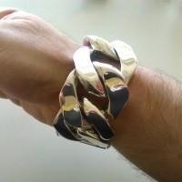40mm BIG Curb LInks Bracelet