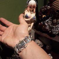 Sterling Silver Cuban Link Bracelet - 8 inch 20mm