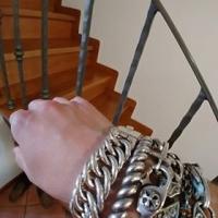 Hoop Link Silver Bracelet Andrea