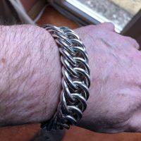 20mm Hoop Link Bracelet