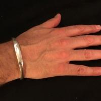 Men's Silver Torque ID Bangle laura 28-11-17jpg