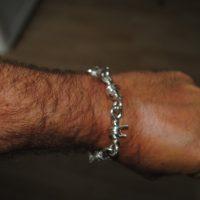 Barb Wire Bracelet for Men