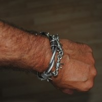 Barb Wire Bracelet - Tony UK