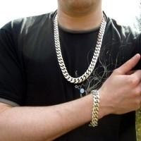 15mm Mens Curb Chain