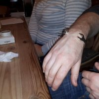 13mm Silver Spanner Wrench Bangle Bracelet