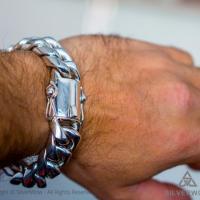 Real Cuban Link Bracelet - 20mm wide sent by customer