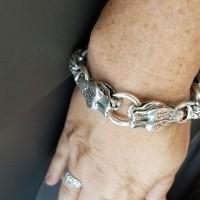 serpentine-bracelet-silver