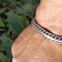 snake weave bracelet david m- USA3