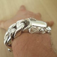 Huge 25mm Cuban Link Bracelet