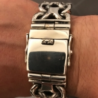 thick, big & heavy kbb1 mens bracelet - Oliver-B-germany.1