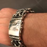 thick, big & heavy kbb1 mens bracelet - Oliver-B-germany.2