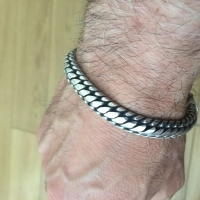 woven-mens bracelet-martin- London-