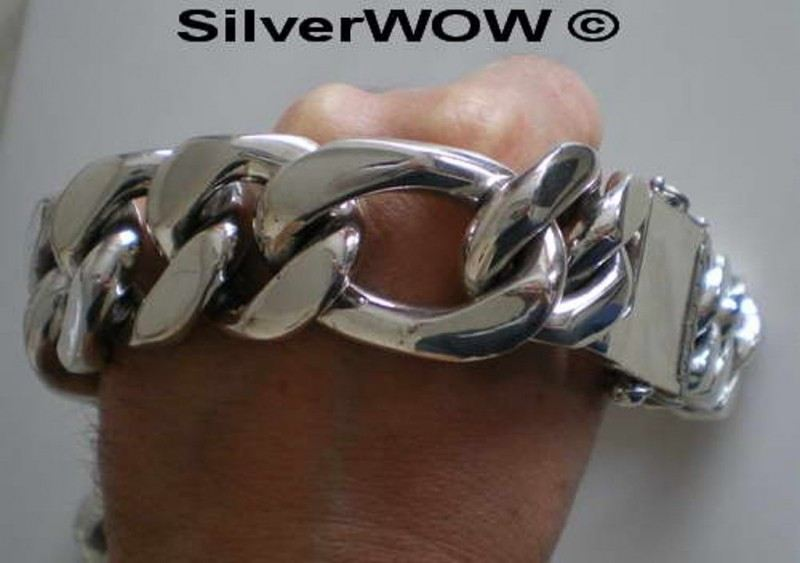 35MM Figaro Chain Bracelet