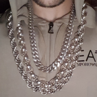 30 inch heavy rope silver chain Phil-1