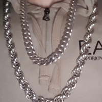 30 inch heavy rope silver chain Phil-2