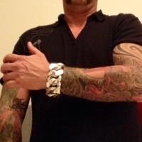 40mm Huge Curb Bracelet