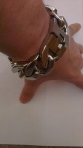 30 mm Mens Stainless Steel Bracelet