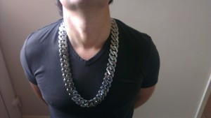 Heavy Mens 25mm Stainless Steel Chain Necklace