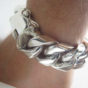 25mm Miami Cuban Link Bracelet