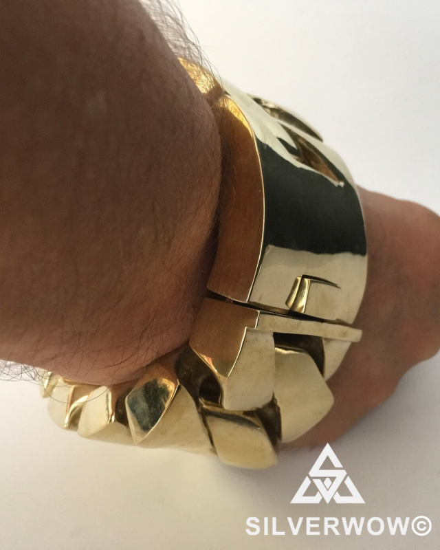 1KG Chunky, Heavyweight Brass | Limited Special Edition by Silverwow
