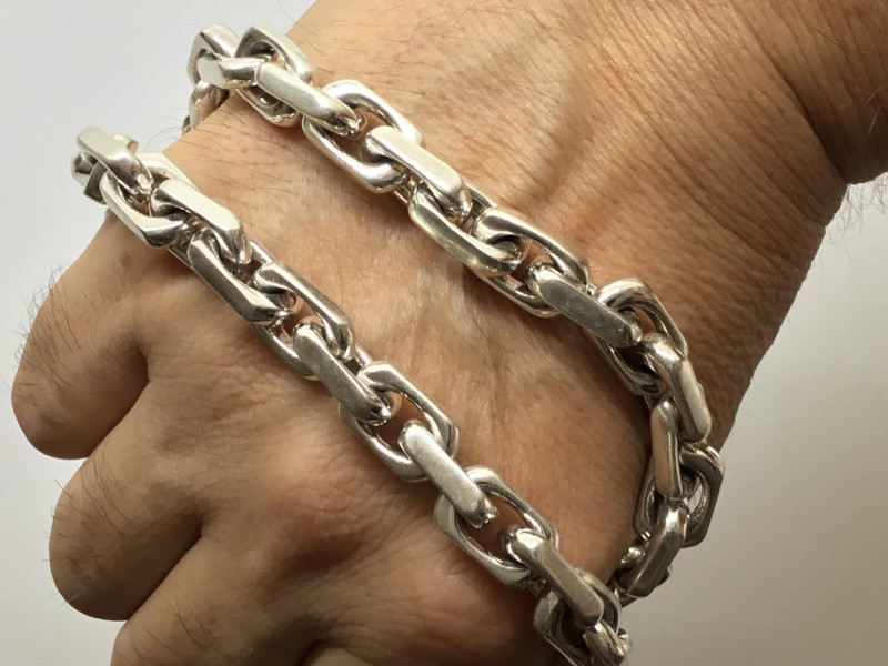 Chunky Chain Link Necklace - 10MM Design