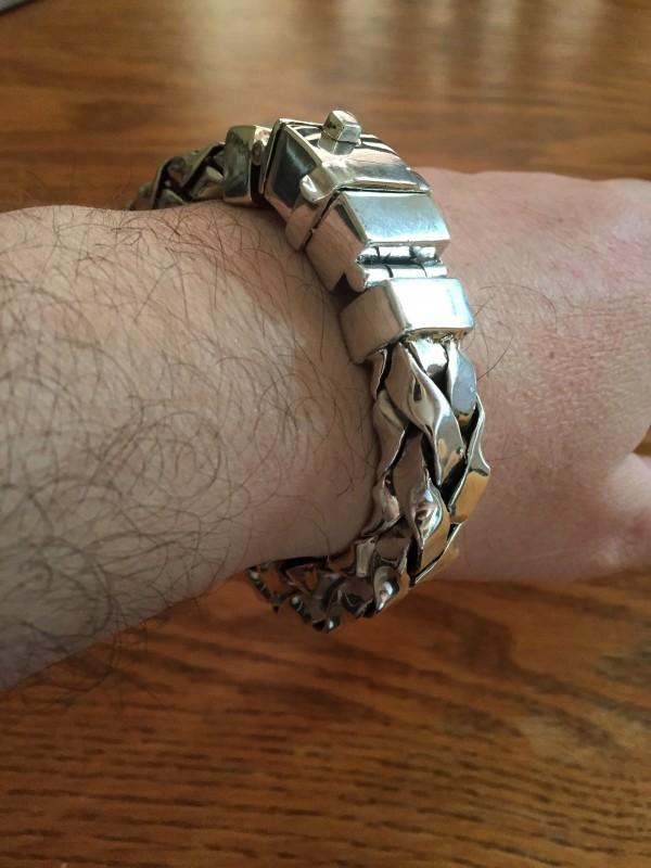 11mm Square Braided Bracelet