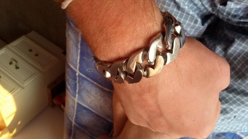 25MM Stainless Steel Bracelet