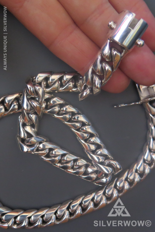 20MM Cuban Chain Necklace for Men | BY Silverwow
