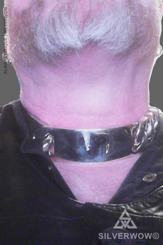 35MM Chunky ID Necklace for Men | BY Silverwow
