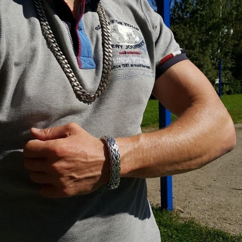 Rope Weave Bracelet - 16MM Design