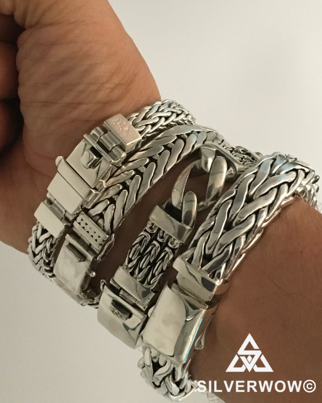 Rope Weaves, Bali Byzantine, Square Braided and other unique designs | BY Silverwow