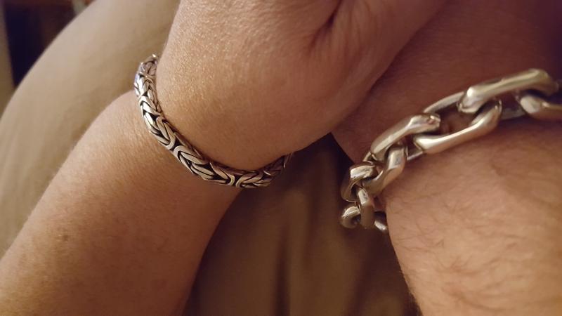 Chain Link and Byzantine Bracelet