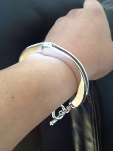 Handcuff Design Bracelet