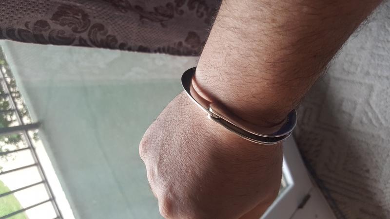 Men's Real Handcuff Bracelet