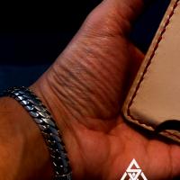 Hossein wearing the 10MM Chunky Woven Snake Bracelet for Men | BY Silverwow