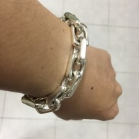 12mm Men's Chain Link Bracelet by John