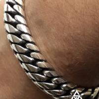 15MM Woven Snake Bracelet | Chunky for Men BY Silverwow