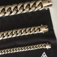 Heavy, Fat & Chunky Cuban Link Bracelets for Men | BY Silverwow
