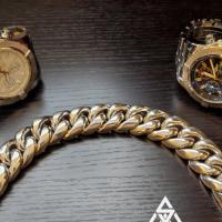 Exsell's 25MM Chunky Cuban Link Bracelet