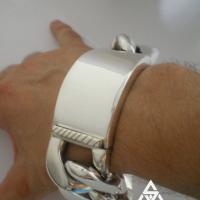 Heavy & Chunky 20MM Identity Bracelet for Men | BY Silverwow
