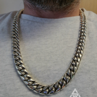 20MM Chunky, Heavy Duty Cuban Necklace sent in by Duane | BY Silverwow