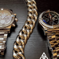 Heavyweight and Chunky 25mm Cuban Link Bracelet sent in by Exsell