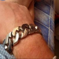 25MM Stainless Steel Bracelet