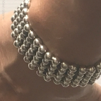 Ball Curb Bracelet for Men | BY Silverwow